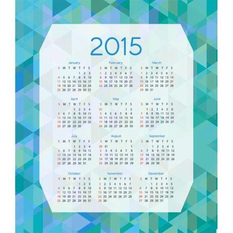 Triangle-pattern-blue-background-Happy-new-year-2015-Vector-calendar-Kalender-2015-Desain-Unik-Jpg-Printable-dan-Template-Free-Download