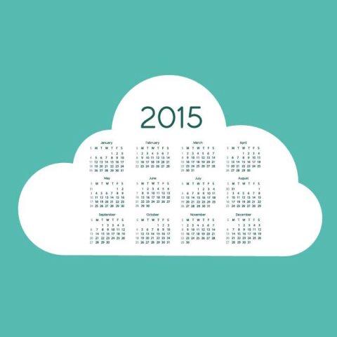... 26kB, Cloud background 2015 Vector Calendar Kalender 2015 Desain Unik