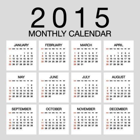 Vector-2015-Monthly-Calendar-template-on-gray-background-Kalender-2015-Desain-Unik-Jpg-Printable-dan-Template-Free-Download