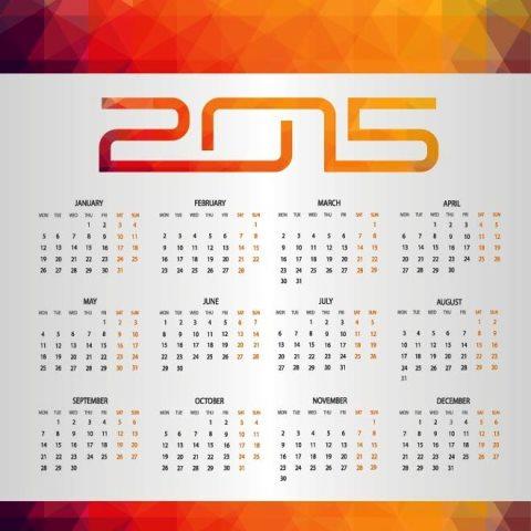 Vector-Mosaic-background-New-year-Calender-Kalender-2015-Desain-Unik-Jpg-Printable-dan-Template-Free-Download