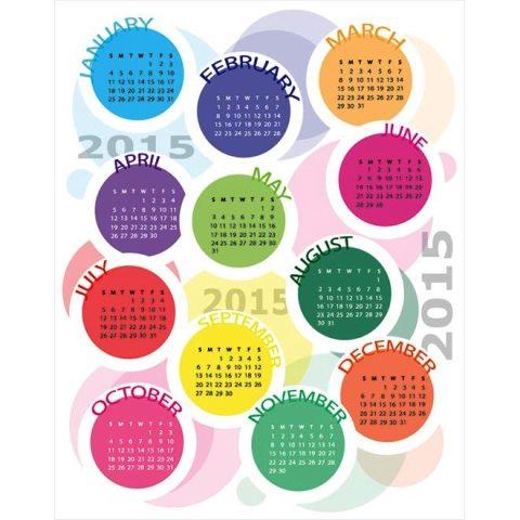 circle-month-block-with-top-name-creative-2015-Vector-Calendar-Kalender-2015-Desain-Unik-Jpg-Printable-dan-Template-Free-Download