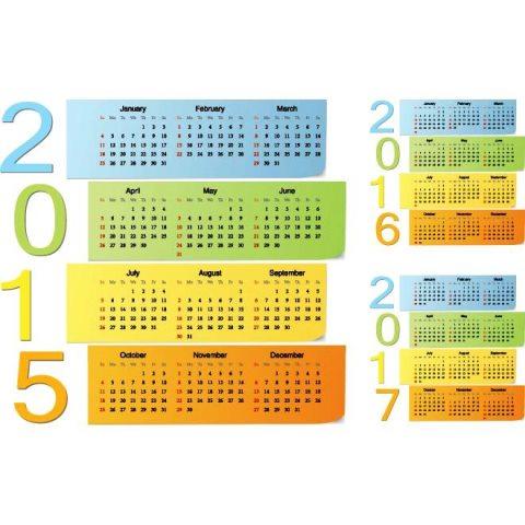 colorful-Sticky-notes-2015-Vector-calendar-Kalender-2015-Desain-Unik-Jpg-Printable-dan-Template-Free-Download