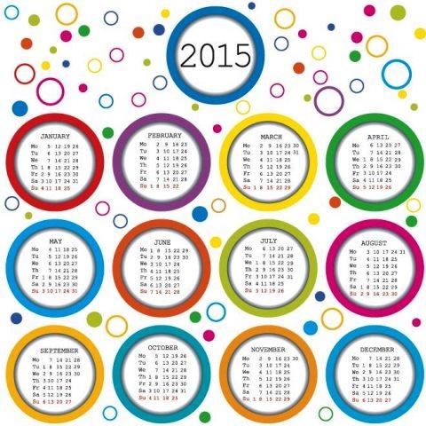colorful-circle-monthly-frame-2015-New-year-Vector-calendar-template-Kalender-2015-Desain-Unik-Jpg-Printable-dan-Template-Free-Download