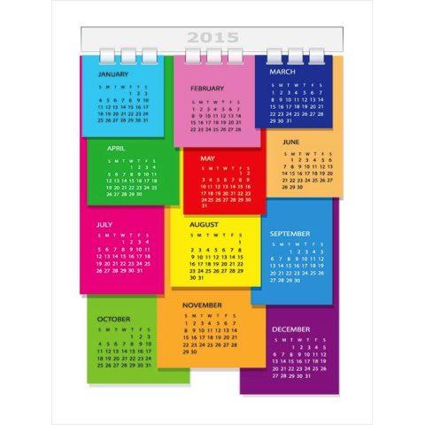 colorful-diary-page-with-spring-2015-Vector-calendar-illustration-Kalender-2015-Desain-Unik-Jpg-Printable-dan-Template-Free-Download