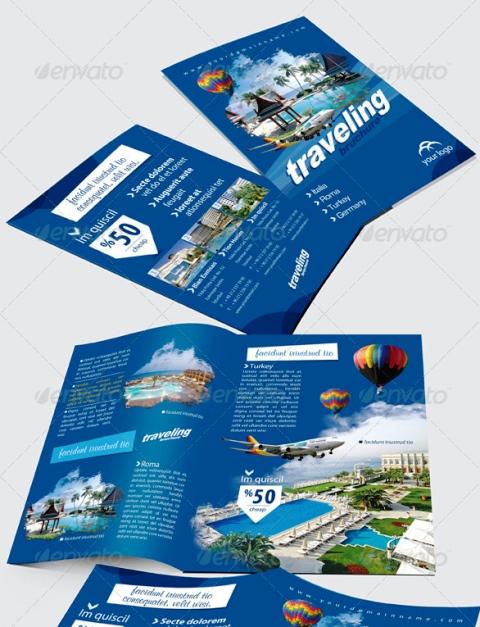 25 Contoh Desain Brosur Tour Dan Travel Terbaik - Brosur-Tour-dan-Travel-Stylish-Brochures-Template