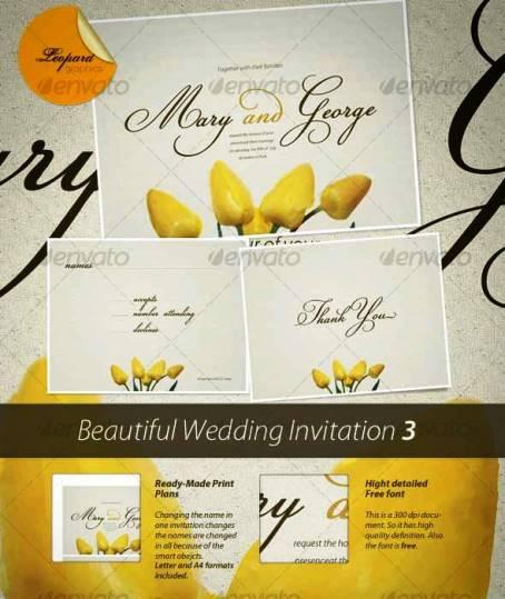 Desain Undangan Pernikahan Terbaik Template Photoshop - Contoh-Desain-Undangan-Pernikahan-Terbaik-Beautiful-Wedding-Invitation-3