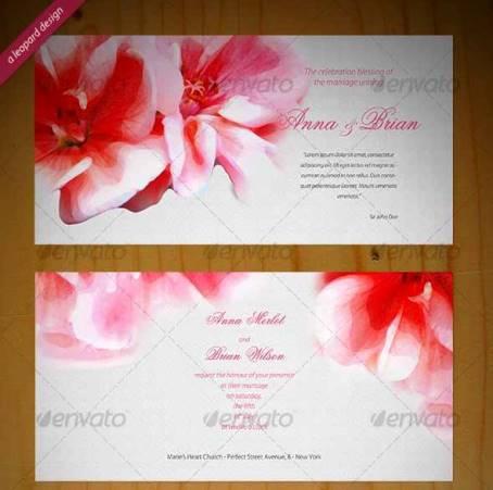 Desain Undangan Pernikahan Terbaik Template Photoshop - Contoh-Desain-Undangan-Pernikahan-Terbaik-Beautiful-Wedding-Invitation