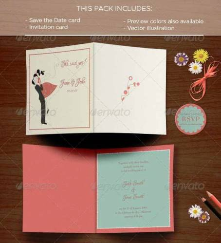 Invitation Card Size with nice invitation example