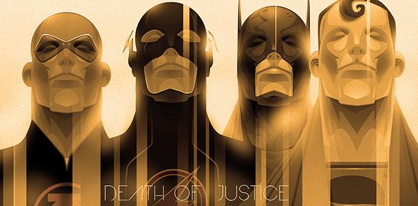 25 Contoh Poster Keren dengan Desain Modern - Poster Keren Desain Modern - Death of Heroes