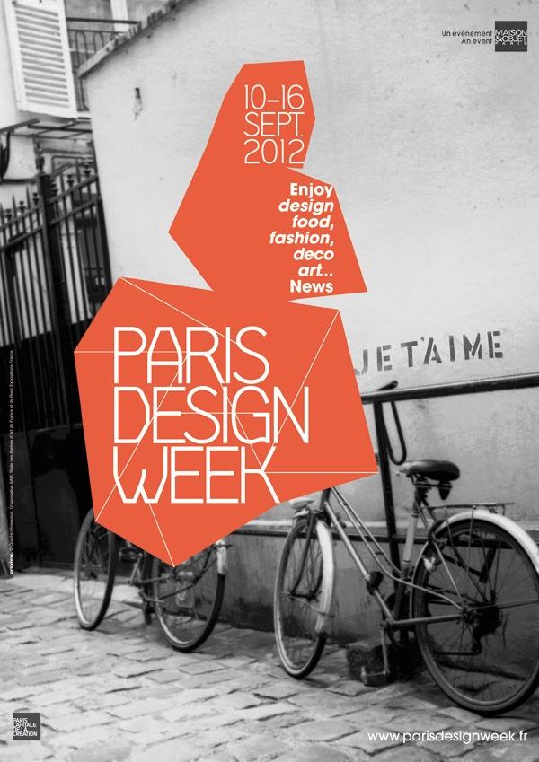 25 Contoh Poster Keren dengan Desain Modern - Poster-Keren-Desain-Modern-Paris-Design-Week-2012