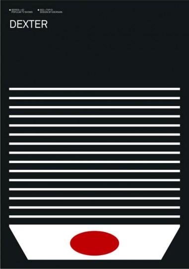 46 Contoh Poster Desain Inspiratif - Poster-inspiratif-tentang-Dexter-Poster-oleh-Albert-Exergian