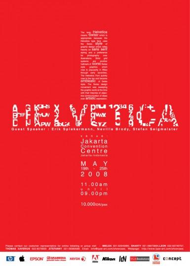 46 Contoh Poster Desain Inspiratif - Poster-inspiratif-tentang-Helvetica-oleh-William-Xu