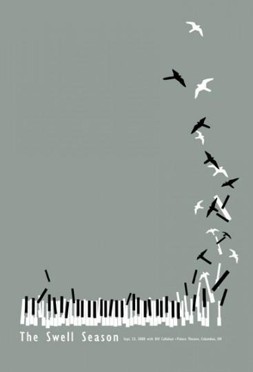 46 Contoh Poster Desain Inspiratif - Poster-inspiratif-tentang-The-Swell-Season