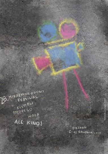 46 Contoh Poster Desain Inspiratif - Poster-inspiratif-tentang-festival-film-anak-yang-didesain-oleh-Klaudia-Kost