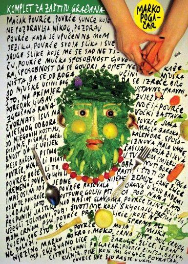 46 Contoh Poster Desain Inspiratif - Poster-inspiratif-tentang-lukisan-makanan-yang-didesain-oleh-dragana-nikolic