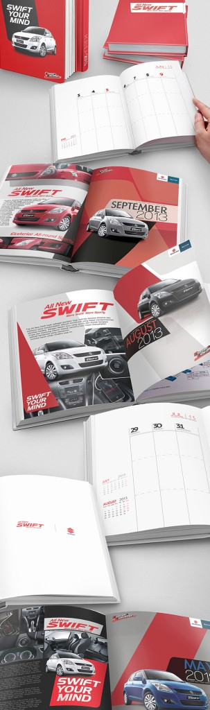 Contoh Buku Agenda Desain Cantik untuk Corporate - Desain-Buku-Agenda-Suzuki-2013-Agenda