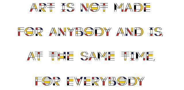 30 Koleksi Font Terbaik untuk Desain - Mondrian Font Free Font