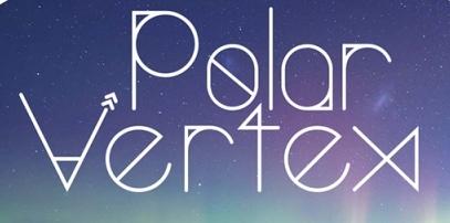 30 Koleksi Font Terbaik untuk Desain - Typeface Polar Vertex