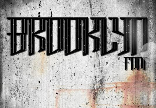 43 Font Graffiti Free Download - Brooklyn Font Free Grafiti Font