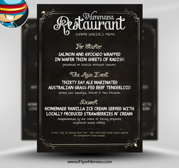 Desain Brosur Flyer Template Download Gratis