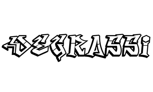 Font Graffiti Free Download Tipografi Desain Model Huruf