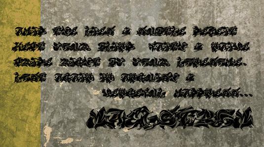 43 Font Graffiti Free Download - Maelstrom Grafiti Font