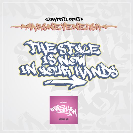 43 Font Graffiti Free Download - Marsneveneksk Grafiti Font