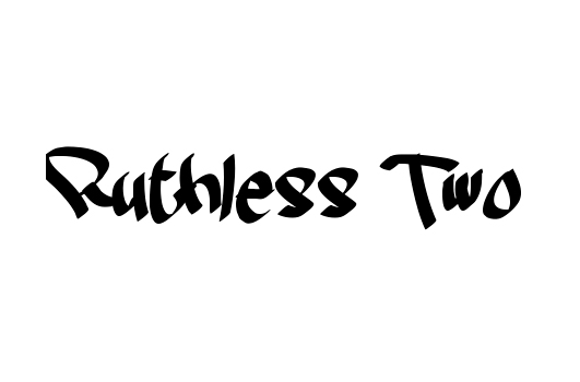 43 Font Graffiti Free Download - Ruthless Two Grafiti Font