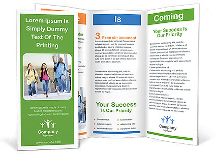 school brochure template - contoh brosur sekolah pendidikan free download templates