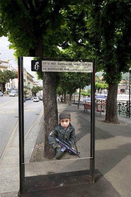 Iklan Layanan Masyarakat Paling Mengena - Iklan-tentang-tentara-anak-anak