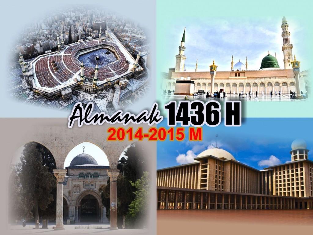 Kalender Hijriyah 1436 2015 Gambar Masjid Terkenal - Kalender-Hijriyah-1436-2015-00-Cover