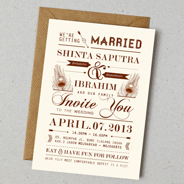 contoh invitation letter of wedding party sample invitation, invitation samples