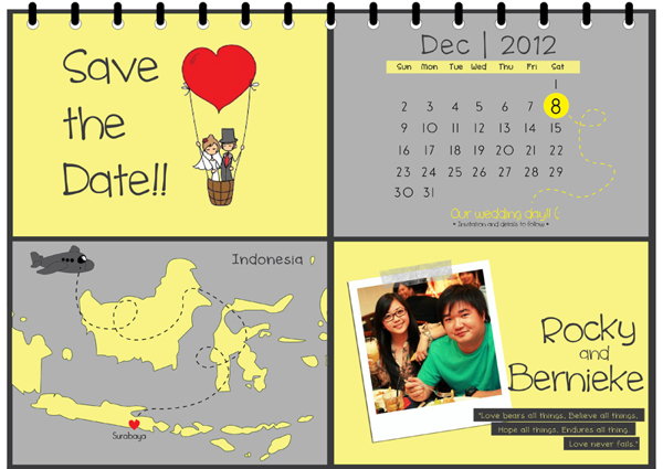 37 Contoh Konsep Undangan Pernikahan Indonesia
