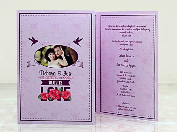 Contoh Konsep Undangan Pernikahan Indonesia Templates Free Download