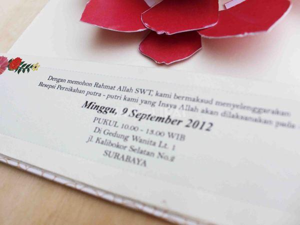 tips kartu undangan pernikahan