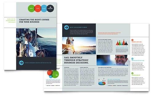 36 Contoh Desain Pamflet dan Brosur Jasa Keuangan - Brochure & Pamphlet Design-Analis-Bisnis