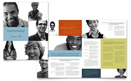 36 Contoh Desain Pamflet dan Brosur Jasa Keuangan - Brochure & Pamphlet Design-Bank-Pribadi