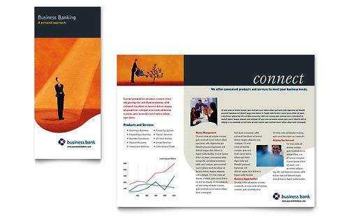 36 Contoh Desain Pamflet dan Brosur Jasa Keuangan - Brochure & Pamphlet Design-Bank-dan-Bisnis-Usaha