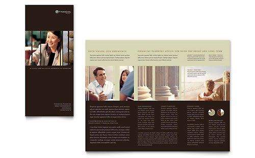 36 Contoh Desain Pamflet dan Brosur Jasa Keuangan - Brochure & Pamphlet Design-Jasa-Ahli-Konsultan-dan-Perencana-Keuangan-4