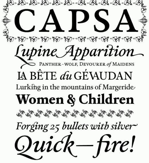Font Tipografi Berkualitas Untuk Desain - Capsa-Font-bagus-untuk-desain-korporasi-bisnis