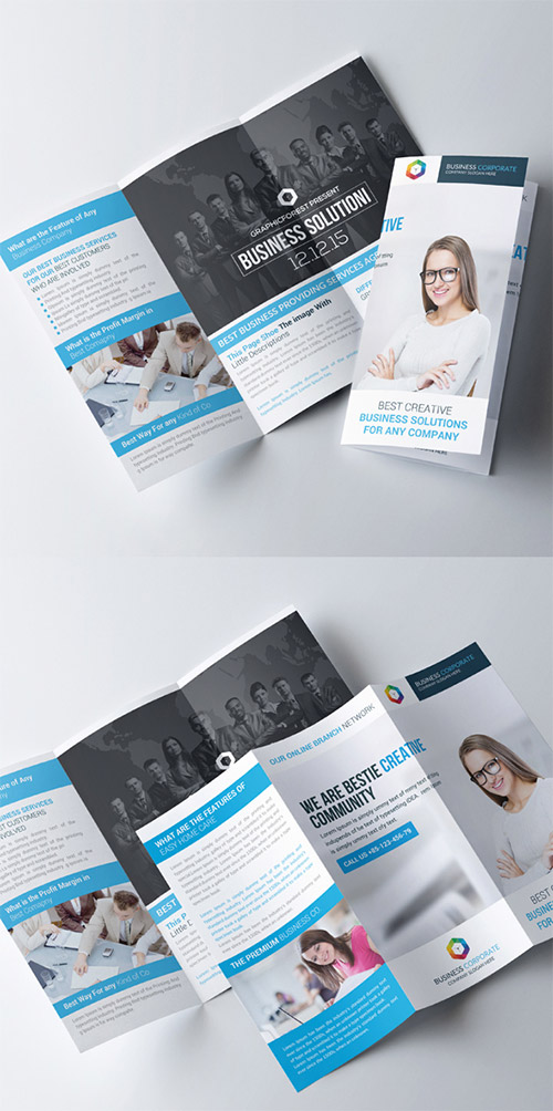 Trifold Business Brochure 3