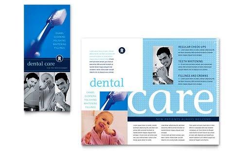Desain Brosur Pamflet Kesehatan dan Medis - Contoh-Pamflet-Brosur-Kesehatan-Gigi