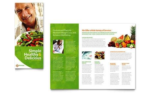 Desain Brosur Pamflet Kesehatan dan Medis - Contoh-Pamflet-Brosur-Kesehatan-Nutrisi-dan-Diet