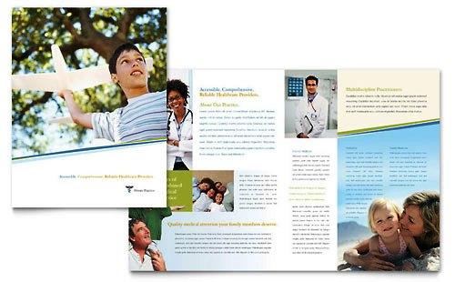 Desain Brosur Pamflet Kesehatan dan Medis - Contoh-Pamflet-Brosur-Klinik-Medis