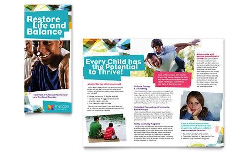 Desain Brosur Pamflet Kesehatan dan Medis