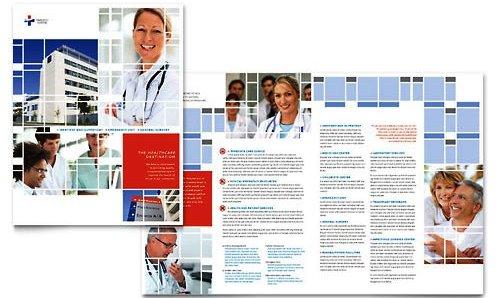 Desain Brosur Pamflet Kesehatan dan Medis - Contoh-Pamflet-Brosur-Rumah-Sakit