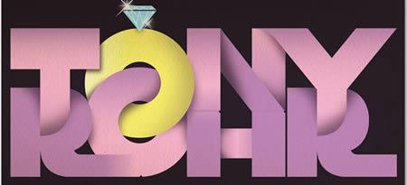 Contoh poster dengan tipografi yang mengagumkan