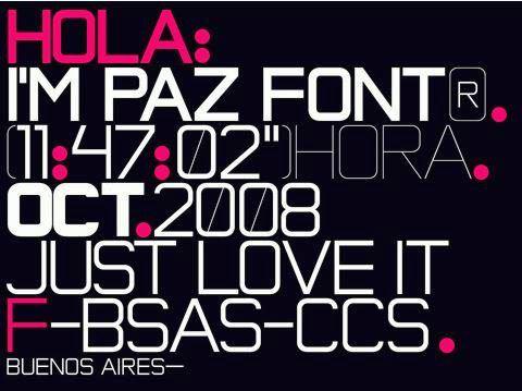 Font Tipografi Berkualitas Untuk Desain - Paz-Font-bagus-untuk-desain-korporasi-bisnis