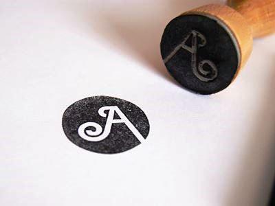 24 Contoh Desain Stempel Cantik - Stempel-Cantik-Desain-Oleh-A-Stamp