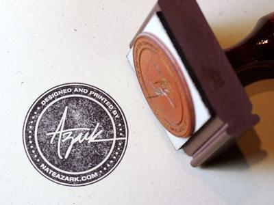 24 Contoh Desain Stempel Cantik - Stempel-Cantik-Desain-Oleh-Azark-Rubber-Stamp